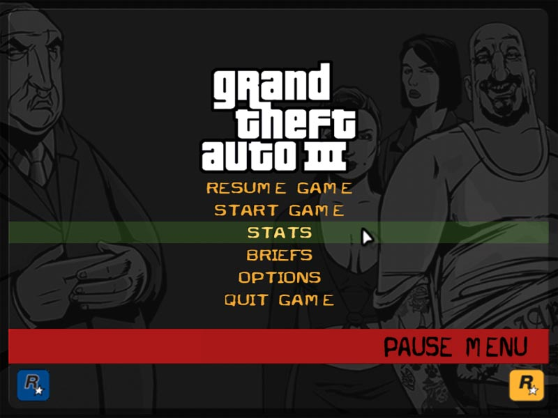 The GTA Place - New Menu, Fonts and Hud