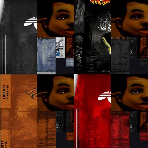 Gta Vc Skins Pack Bmp: GTA 3 Black Claude Pack