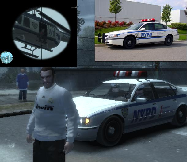 NYPD Vehicles Mod
