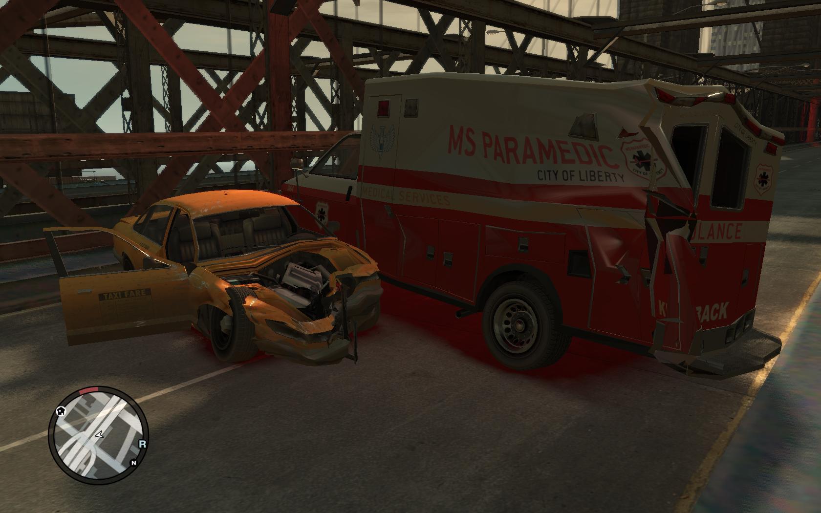 The GTA Place - Realistic car damage