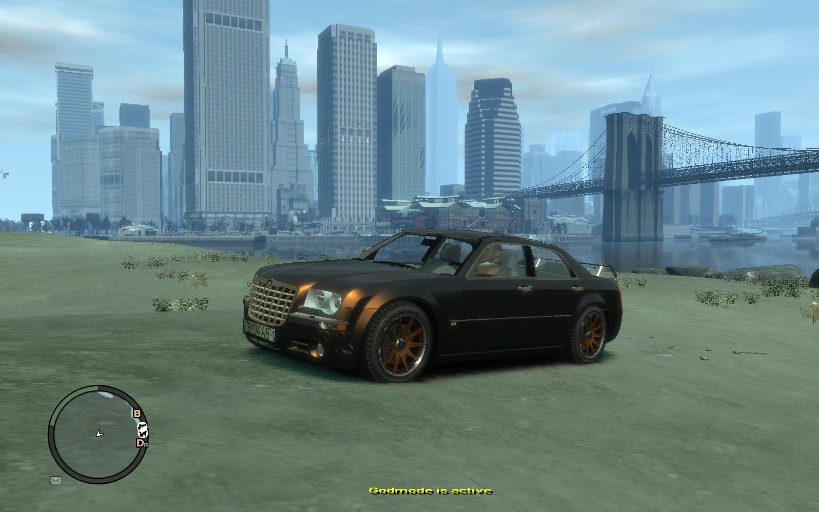 White Chrysler 300 >> The GTA Place - Chrysler 300C Pimped
