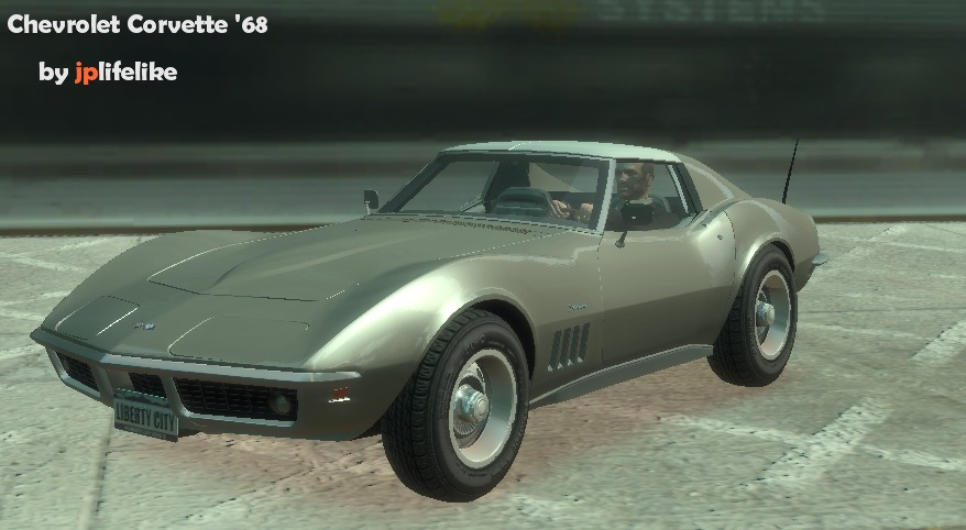 The Gta Place 1968 Chevrolet Corvette Stingray