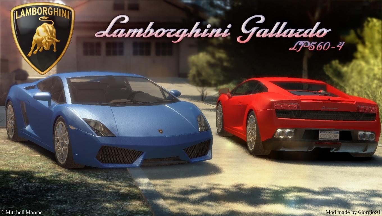 The GTA Place - Lamborghini Gallardo LP560-4