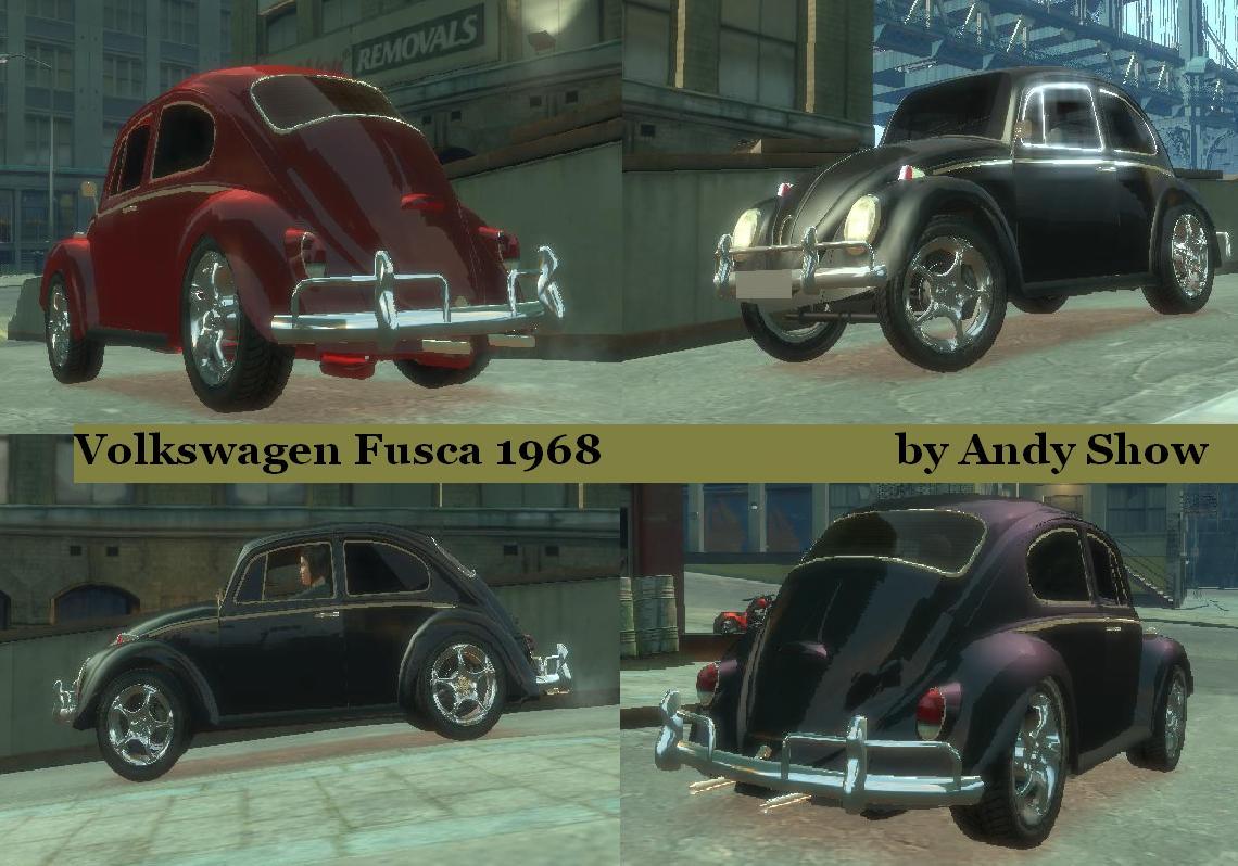1968 Volkswagen Fusca (Beetle)