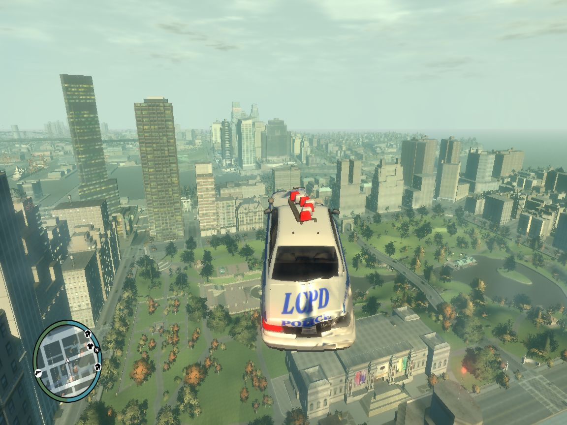 The Gta Place Gta Iv Police Car Is Helicopter Ver 1 0