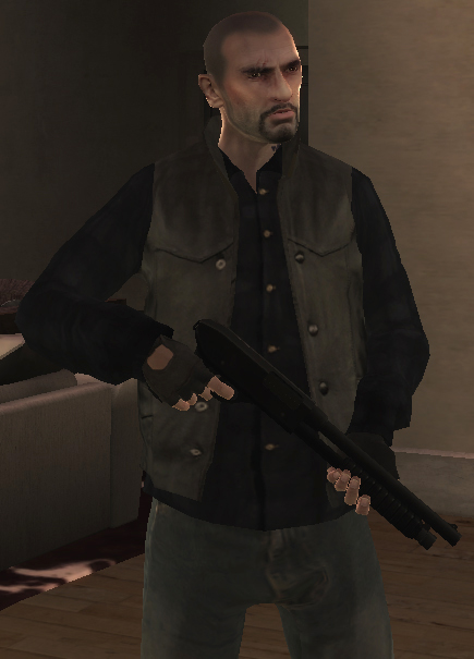 Screen on Grand Theft Auto 5