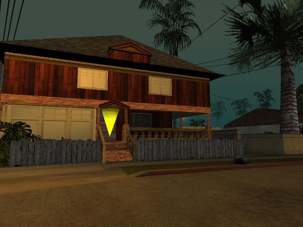 The Gta Place Ganton Safe House