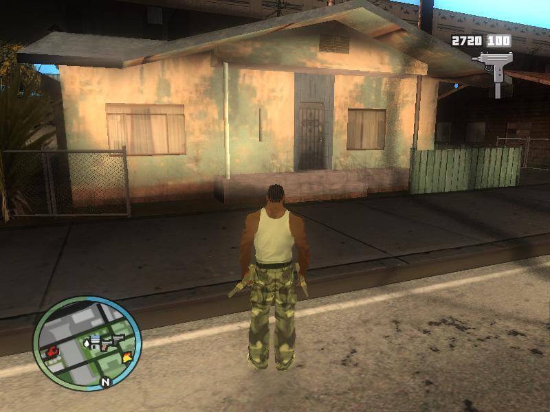 The GTA Place - GTA San Andreas GTA IV Hud