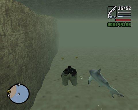 рыбалка для gta sa