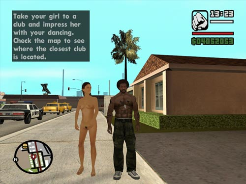 The GTA Place - Downloads - Nude Girlfriend's V2