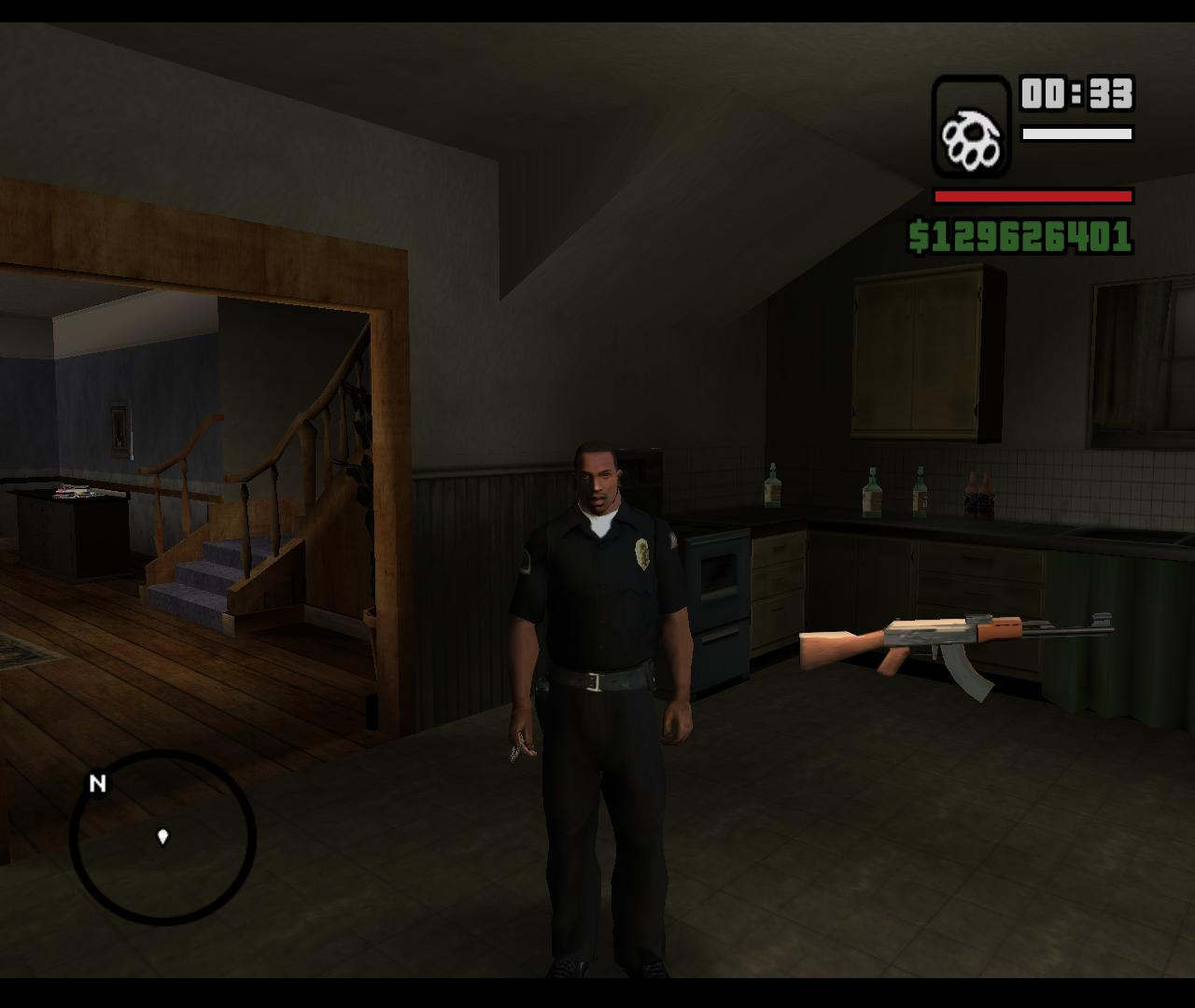 The GTA Place San Andreas Beginning Saved Game