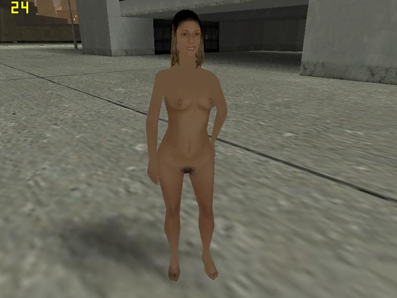 Naked vagina girl gta
