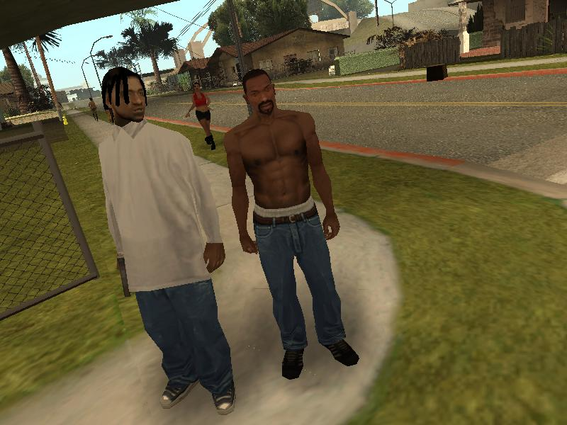 The Gta Place Grove Street Families Recreated