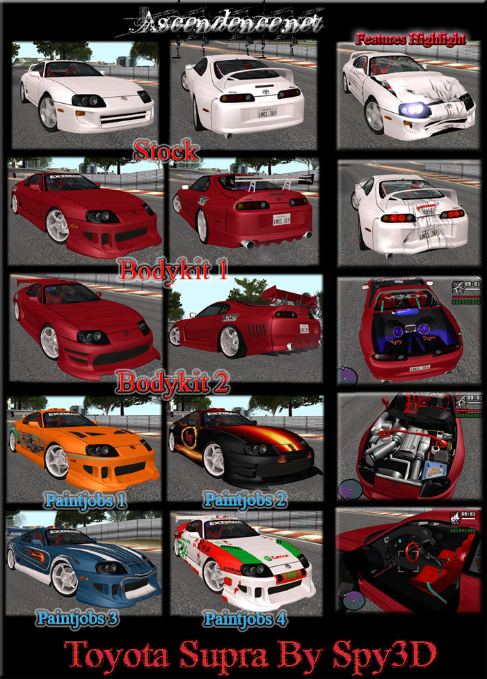 The GTA Place - Toyota Supra by Spy3d