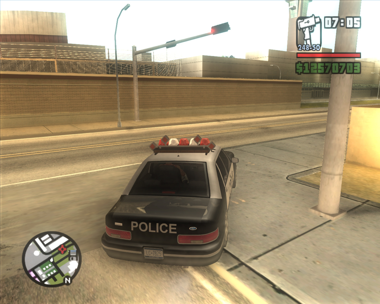 The GTA Place - High Poly/HD GTA3 Police car for San Andreas Gta San Andreas Police Cars