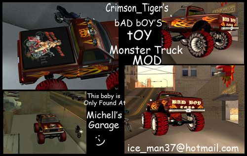 Bad Boy Toys : The gta place bad boys monster truck