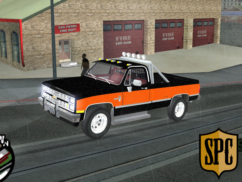 The GTA Place - Chevrolet Silverado K-10 2500 '86