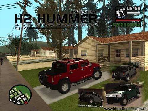 Hummer H2 Sut. AMG Hummer H2 SUT