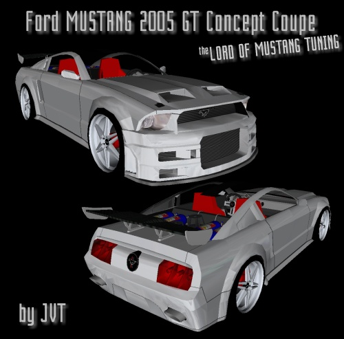 Ford Mustang 2005 GT Concept Coupe LOM Tuning