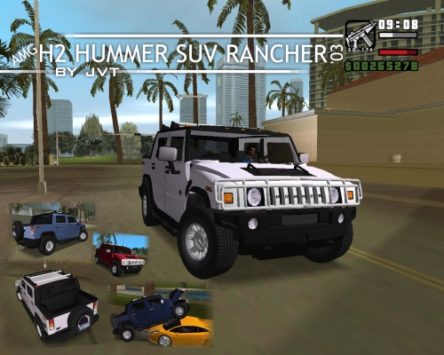 The GTA Place - AMG Hummer H2 SUV Rancher