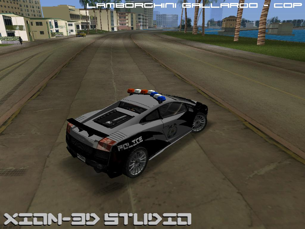 The Gta Place Lamborghini Gallardo Xion Patrol Edition
