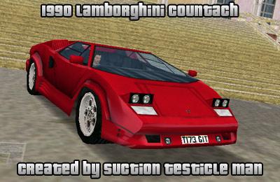 Gta 5 Cool Cars >> The GTA Place - Lamborghini Countach 1990 (VCM)