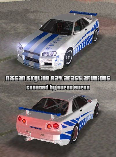 The Gta Place Nissan Skyline R34 2f2f