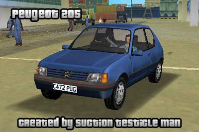 Gta 5 Cool Cars >> The GTA Place - Peugeot 205