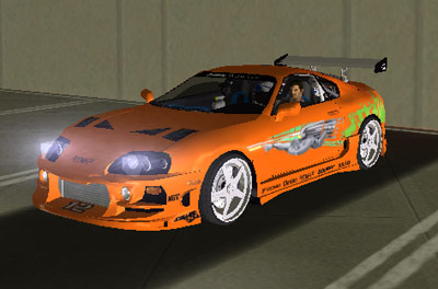 Toyota Supra on The Gta Place   Grand Theft Auto News  Forums  Information