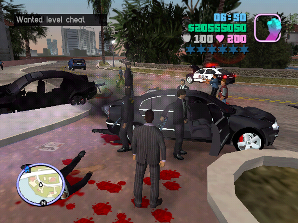 Gta vice city police drift show bug - 4 1