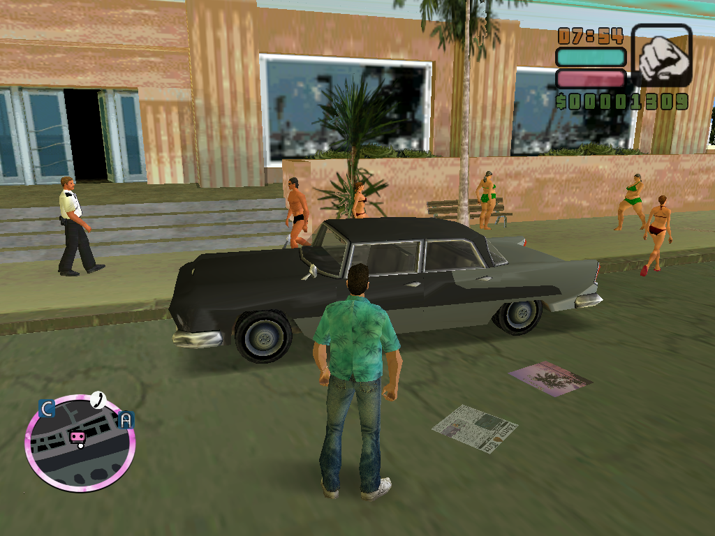 The GTA Place - Vice City Cars Re-Style