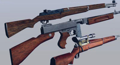 The GTA Place - World War 2 Weapons