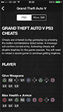 GTA Game Cheats iPhone screenshot 02