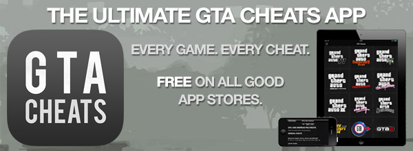 GTA Game Cheats Promo