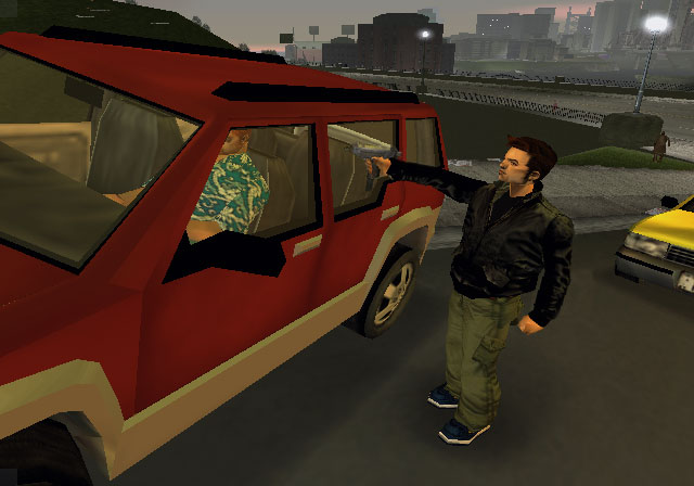 The GTA Place - GTA III PS2 Screenshots