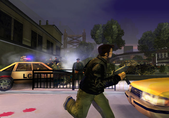 The GTA Place - GTA III PS2 Screenshots