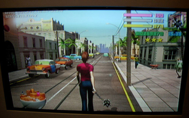 gta 4 map weapons. check out the weapon she#39;s