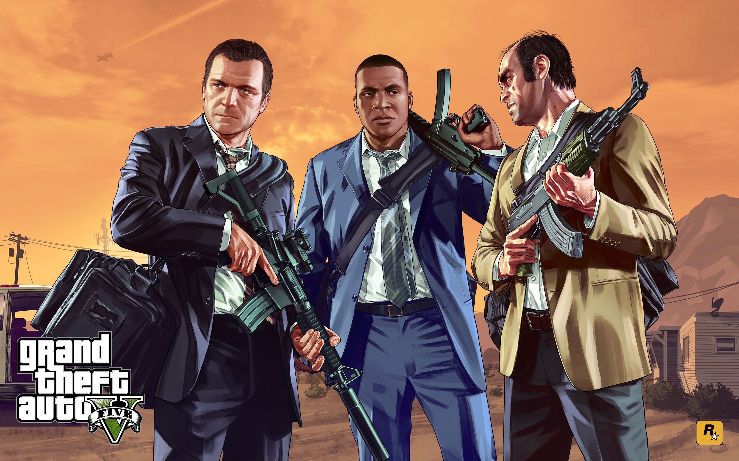 grand theft auto v ha vendido mas de 55 millones de copias rockstar games rdr 2 3djuegos. Black Bedroom Furniture Sets. Home Design Ideas