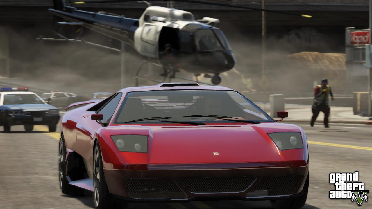 Скриншот в GTA 5