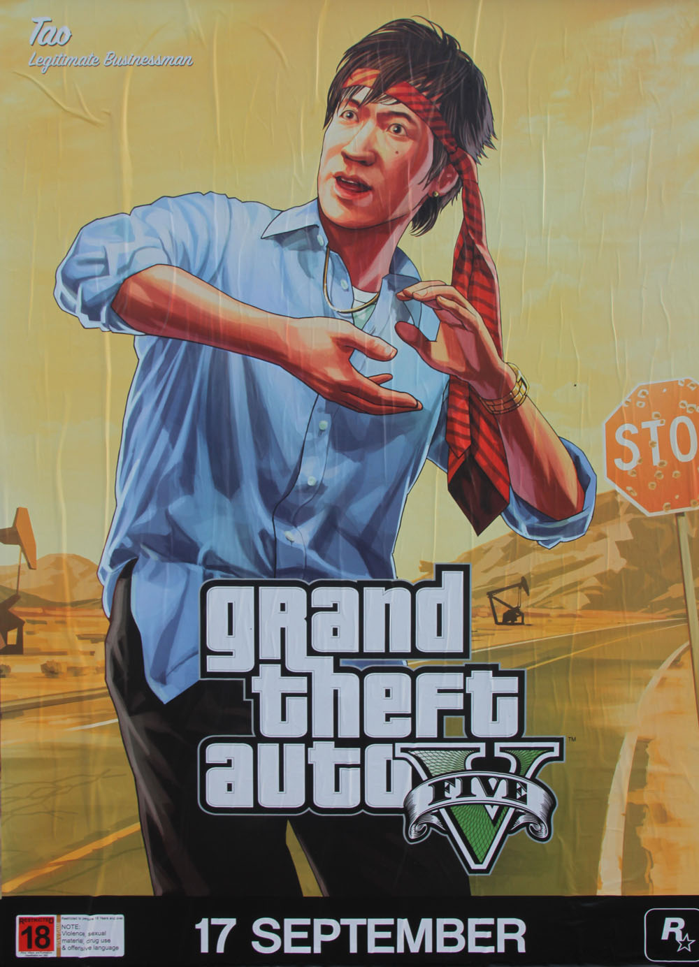 the gta place 5 new gtav character artworks from street posters. Black Bedroom Furniture Sets. Home Design Ideas